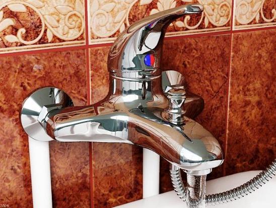 Как сделать смеситель на ванной