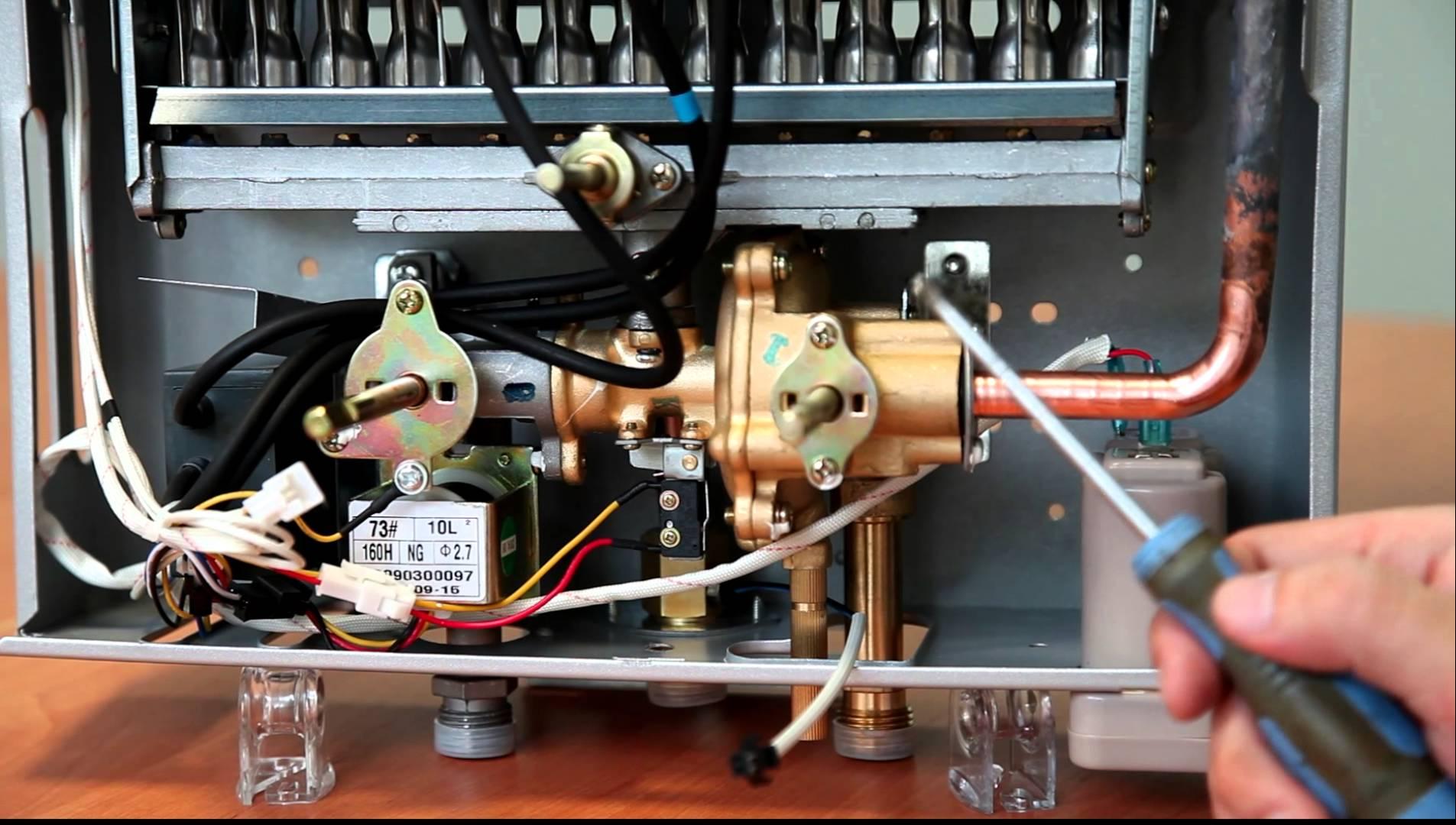 Газовые колонки вектор ремонт своими руками 63